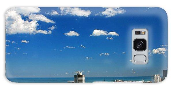 Chicago Skyline Big Sky Lake Galaxy Case
