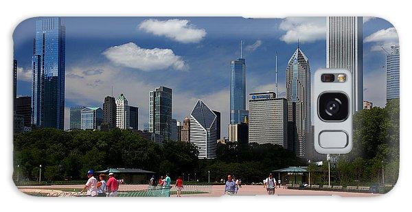 Chicago Skyline Grant Park Galaxy Case