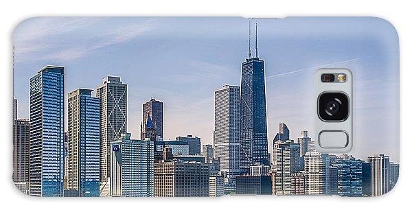 Chicago Skyline North View Galaxy Case