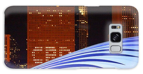 Chicago Skyline Orb Galaxy Case
