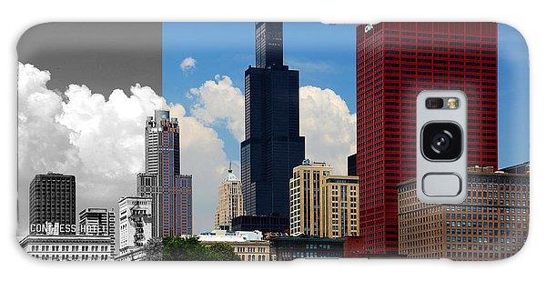 Chicago Skyline Sears Tower Galaxy Case