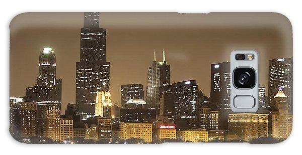 Chicago Skyline - World Aids Day 12/1/12 Galaxy Case