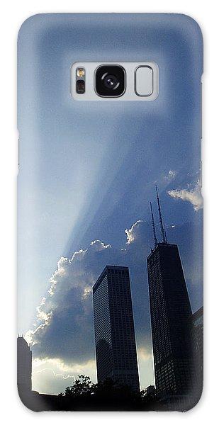 Chicago Sunset Galaxy Case by Verana Stark