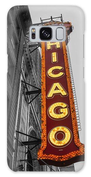Chicago Theater Selective Color Galaxy Case