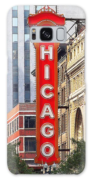 Chicago Theatre - A Classic Chicago Landmark Galaxy Case