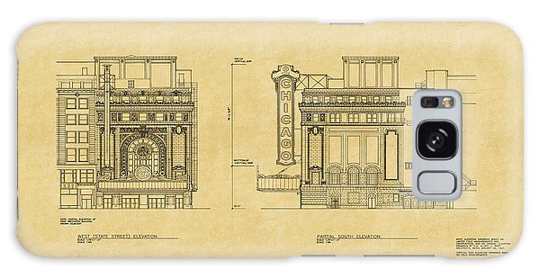 Chicago Theatre Blueprint 2 Galaxy Case