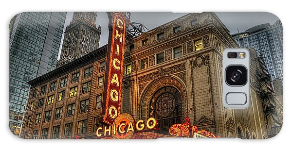 Chicago Theatre Hdr Galaxy Case
