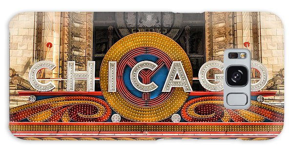 Chicago Theatre Marquee Sign Galaxy Case