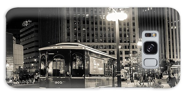 Chicago Trolly Stop Galaxy Case