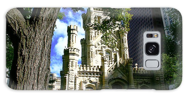 Chicago Water Tower Castle Galaxy Case