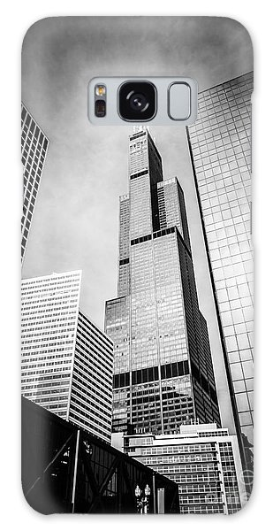 Chicago Willis-sears Tower In Black And White Galaxy S8 Case