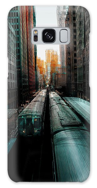 Tall Galaxy Case - Chicago's Station by Carmine Chiriac?