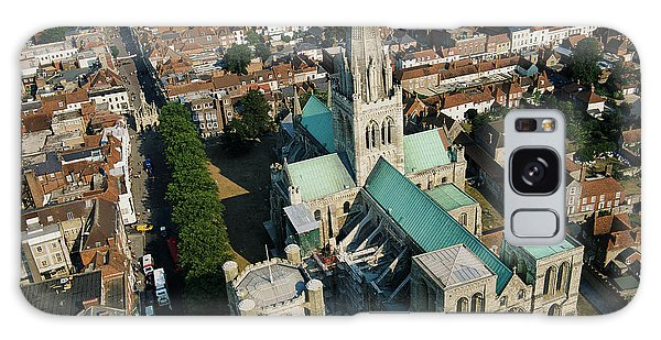 Place Of Worship Galaxy Case - Chichester Cathedral by Skyscan/science Photo Library