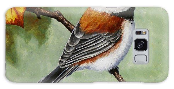 Chickadee Galaxy S8 Case - Chickadee - Autumn Charm by Crista Forest