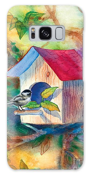 Chickadee Bungalow Galaxy Case