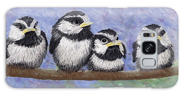 Chickadee Chicks Galaxy Case