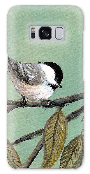 Chickadee Set 10 - Bird 1 Galaxy Case
