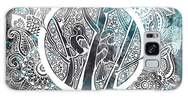 Decorative Galaxy Case - Chickadees by Andrea Stephenson