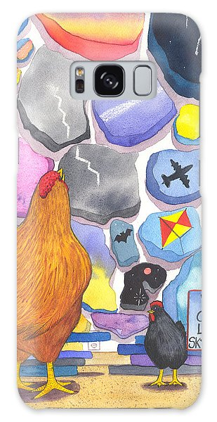 Chicken Littles Sky Collection Galaxy Case