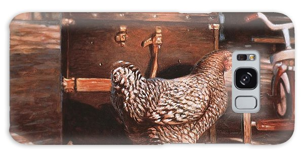Chicken With Trunk Galaxy Case
