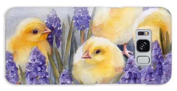 Chicks Among The Hyacinth Galaxy Case