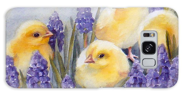 Chicks Among The Hyacinth Galaxy Case
