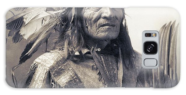 Chief He Dog Of The Sioux Nation  C. 1900 Galaxy Case by Daniel Hagerman