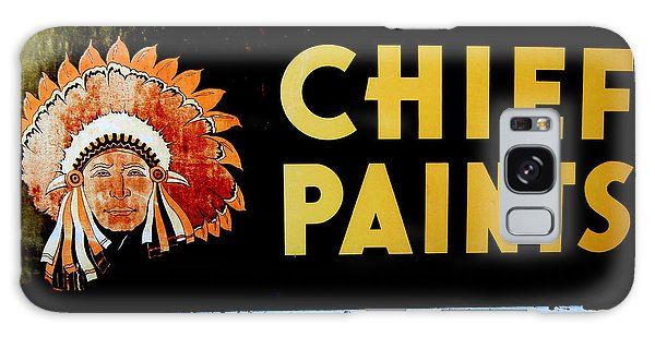 Chief Paints Sign Galaxy Case by Karyn Robinson