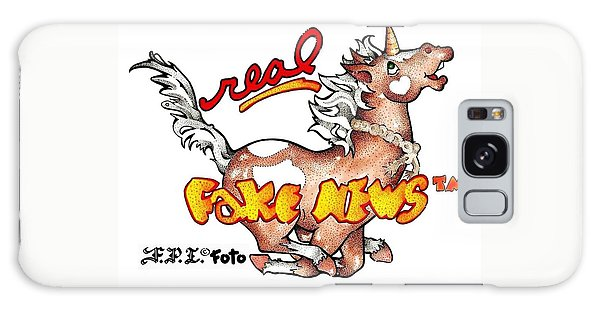 Real Fake News Fpi Foto Galaxy Case by Dawn Sperry