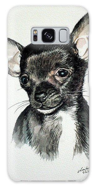 Chihuahua Black 2 Galaxy Case