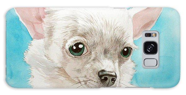 Chihuahua Dog White Galaxy Case