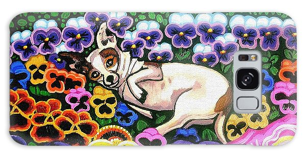 Chihuahua In Flowers Galaxy Case