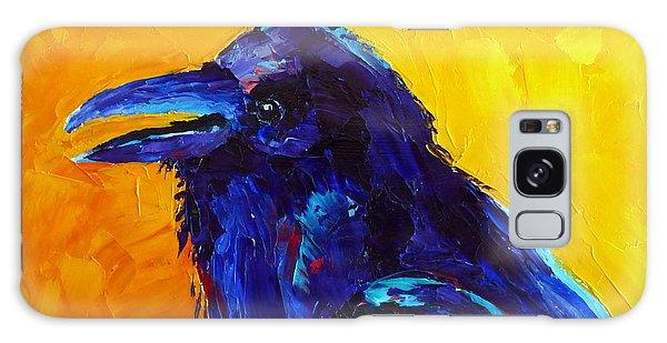 Chihuahuan Raven Galaxy Case
