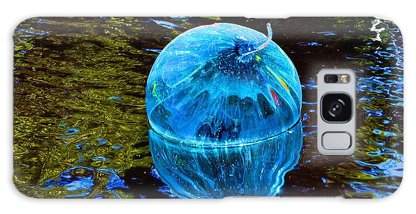 Artsy Blue Glass Float Galaxy Case