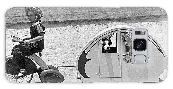 Venice Beach Galaxy Case - Children Beach Tour by Underwood Archives