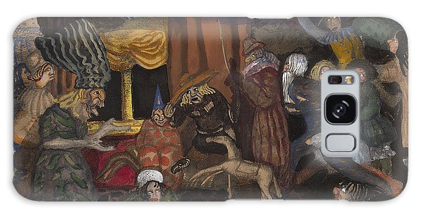 Russian Impressionism Galaxy Case - Childrens Masquerade by Celestial Images