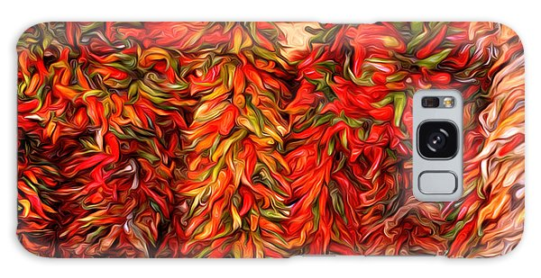 Chili Ristras Abstract Galaxy Case