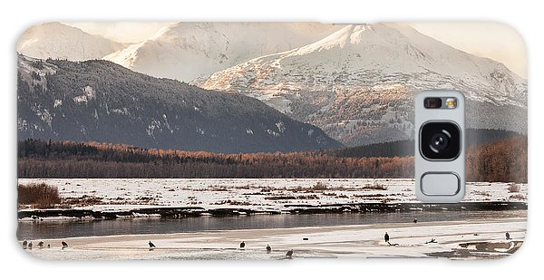 Chilkat Bald Eagle Preserve In Winter Galaxy Case