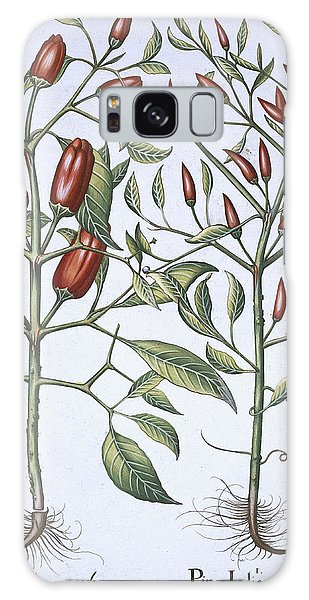 Plants Galaxy Case - Chilli Pepper Plants by German School