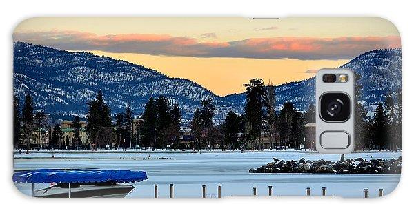Chillingsunrise 001 Skaha Lake 02-28-2014 Galaxy Case
