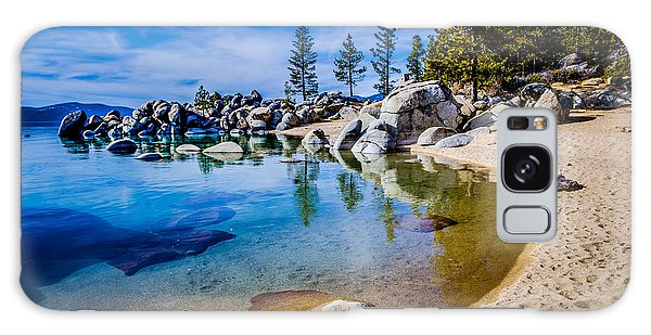 Chimney Beach Lake Tahoe Shoreline Galaxy Case