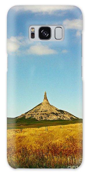 Chimney Rock Nebraska Galaxy Case by Robert Frederick
