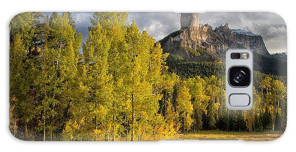 Chimney Rock San Juan Nf Colorado Img 9722 Galaxy Case