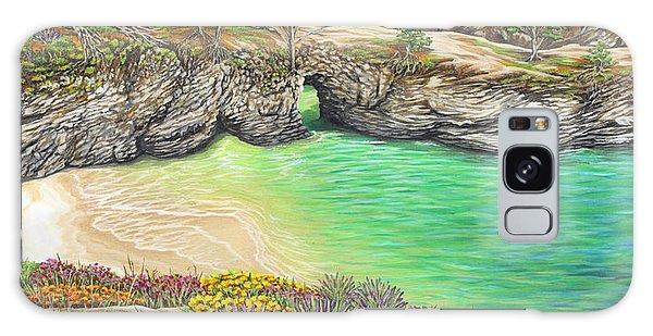 China Cove Paradise Galaxy Case by Jane Girardot