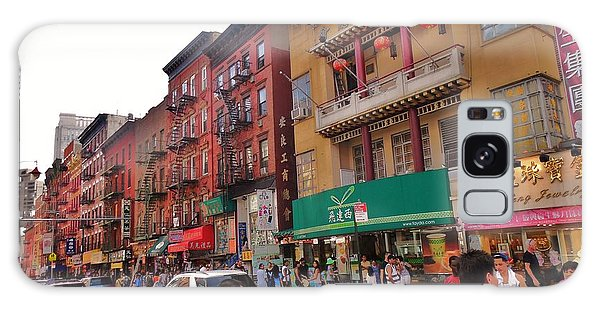 China Town Nyc Galaxy Case by Robin Coaker