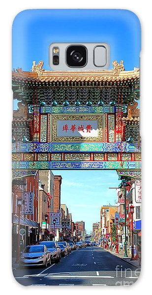 Cultural Center Galaxy Case - Chinatown Friendship Gate by Olivier Le Queinec