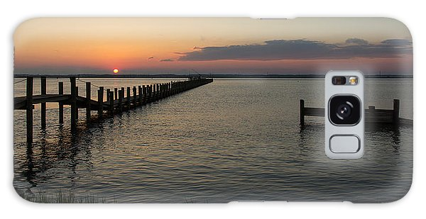 Chincoteague Island Sunset Galaxy Case