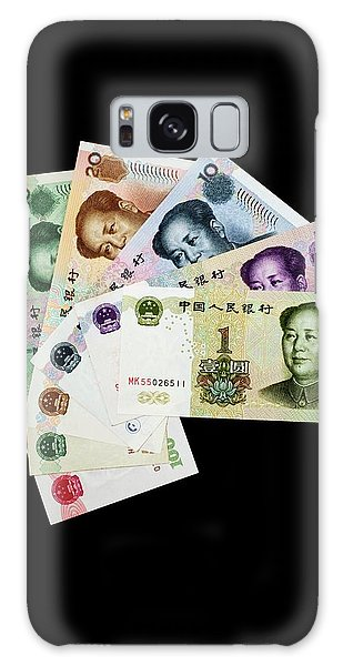 People's Republic Of China Galaxy Case - Chinese Banknotes by Tim Lester/science Photo Library