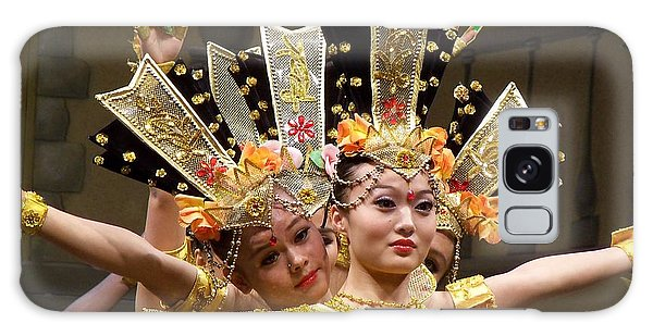 Chinese Dancers Perform Thousand Hands Guan Yin Galaxy Case