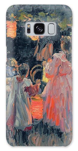 Russian Impressionism Galaxy Case - Chinese Lanterns by Ivan Semyonovich Kulikov